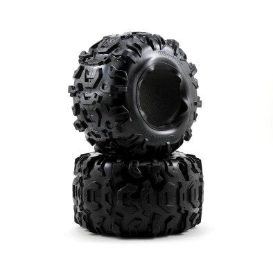 "Traxxas 3.8"" Canyon Tires W/Foam Inserts (2)"