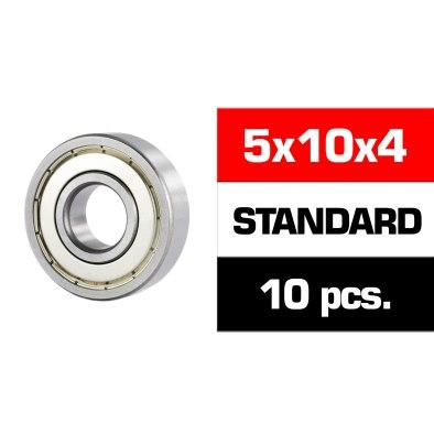 Ultimate Racing 5x10x4 ZZ (10U.) Rodamientos