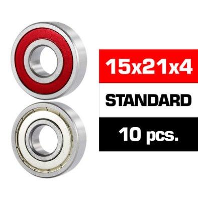 Ultimate Racing 15x21x4 Rz (10U.) Bearings