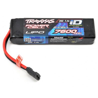 Traxxas Power Cell 2S 7.4v 7600mAh 25C LiPo...