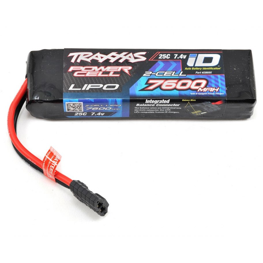 Traxxas Power Cell 2S 7.4v 7600mAh 25C LiPo Battery
