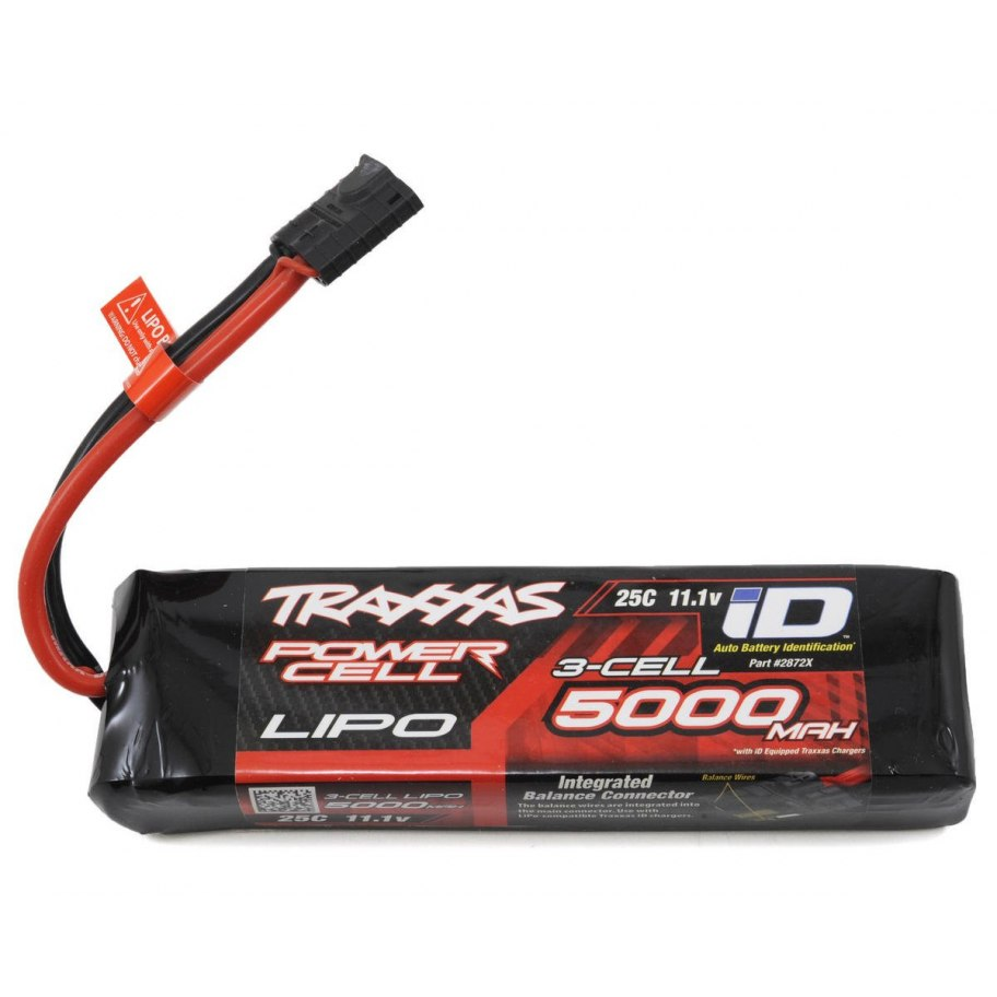 Traxxas Power Cell 3S 11.1v 5000mAh LiPo Battery