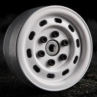Gmade 1.9 SR02 Blanco (2) | Llantas Crawler Beadlock