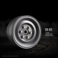 Gmade 1.9 SR03 Grey (2)   Crawler Beadlock Wheels