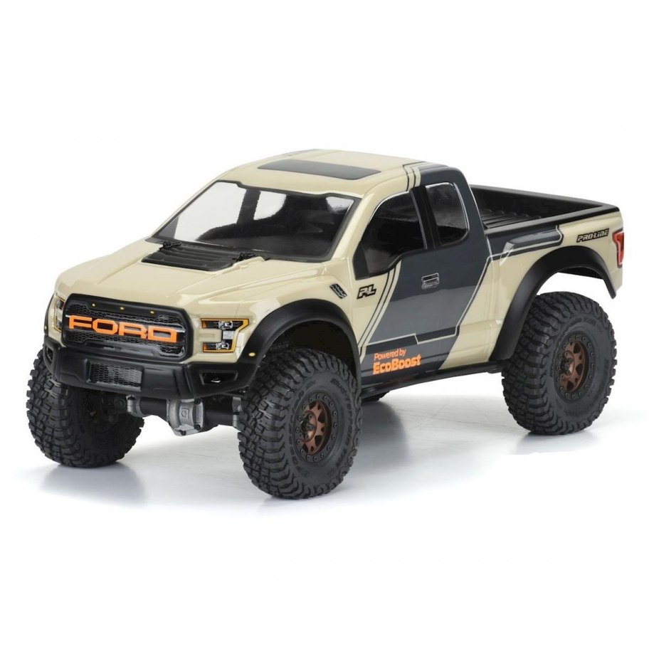 "Pro-Line 2017 Ford F-150 Raptor 12.3"" Rock Crawler Body (Clear)"