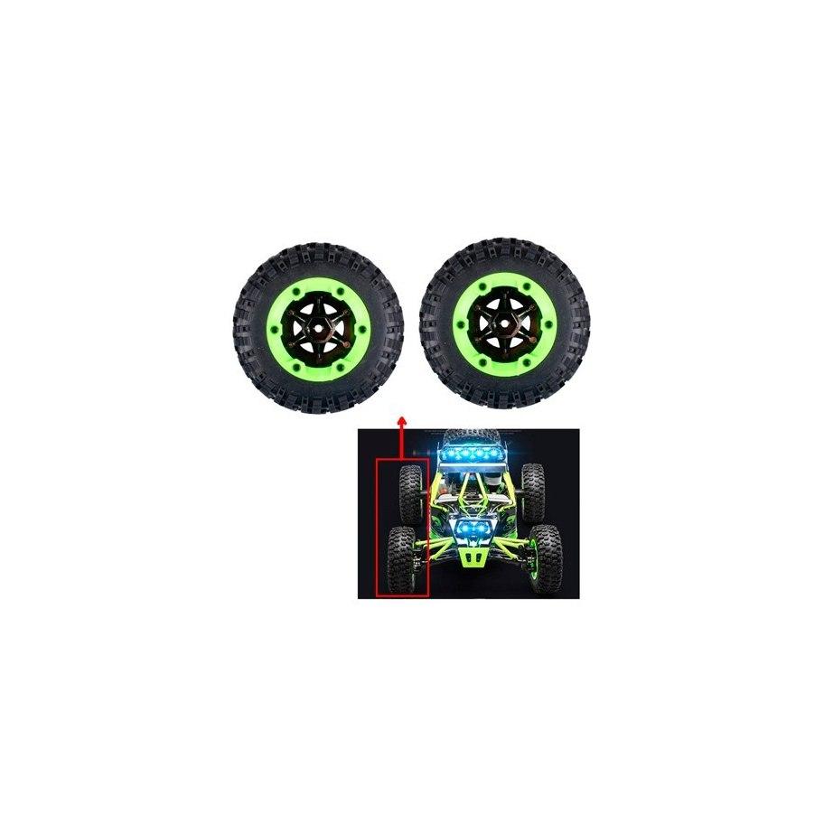 Wltoys Right Wheels Kit 12427 1/12 Trial (2Pcs.)