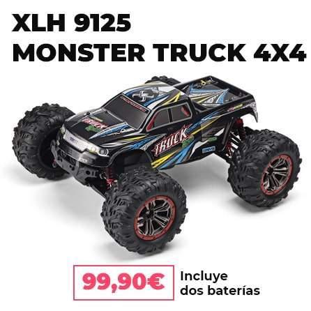 XLH 9125 RC + dos baterías