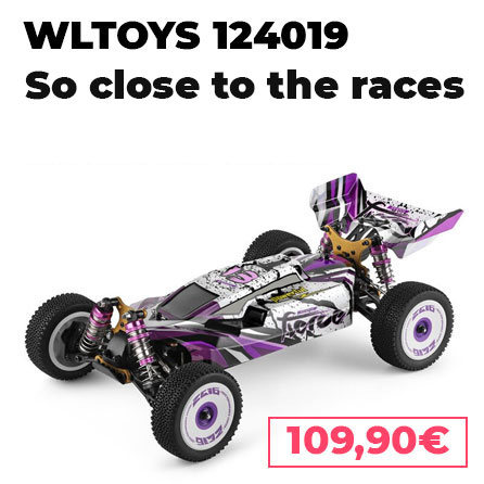 Wltoys 124019 rc 1:12 buggy